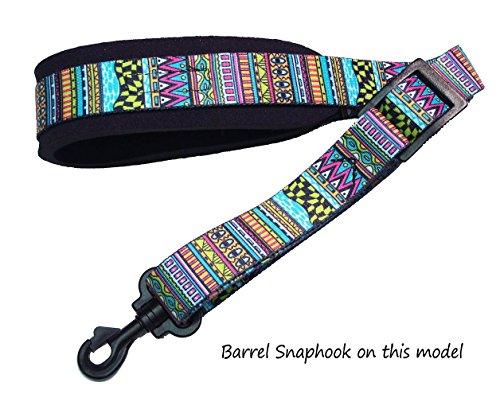 Festival Neoprene padded Saxophone strap with locking swivel snaphook for Alto Tenor or Soprano Sax Model SSXW by Legacystraps ()