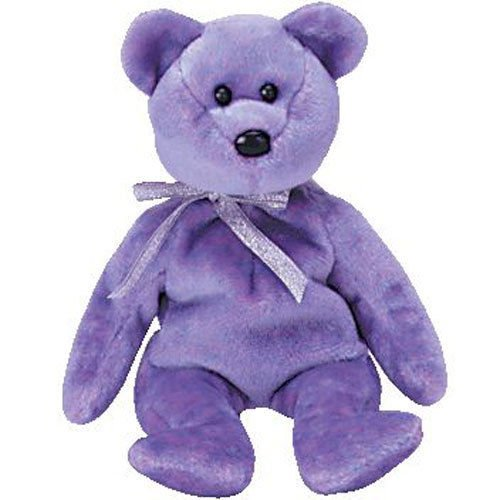b5265605528 Amazon.com  TY Beanie Baby - CLUBBY 2 the Platinum Bear (8.5 inch) MWMT s -  Stuffed Toy  Toys   Games