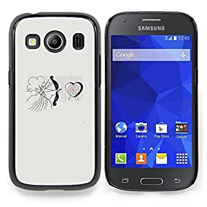 Stuss Case / Funda Carcasa protectora - Cupid del ángel del amor del corazón de San Valentín - Samsung Galaxy Ace Style LTE/ G357