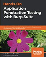 Hands-On Application Penetration Testing with Burp Suite Front Cover