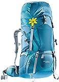 Deuter ACT Lite 60 + 10 SL - Ultralight Trekking Backpack, Arctic/Denim