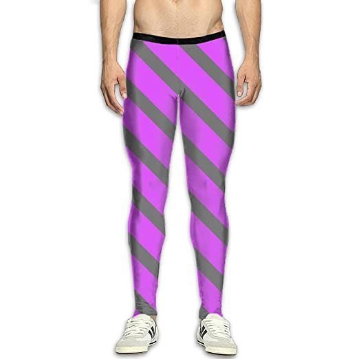 really comfortable official images the sale of shoes Amazon.com: Men's Compression Pants colorful Sexy Striped ...