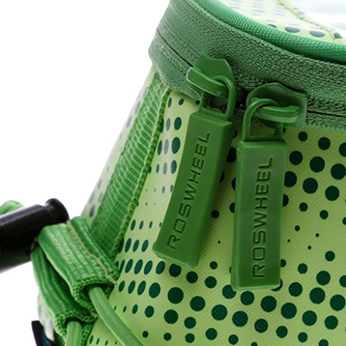 Wasserdicht Fahrrad MTB Radsport Rahmentaschen Steuerrohr Taschen Beutel Gepäcktasche für 5.2 Handy Grün ZtuEnziQ