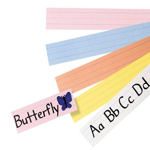 Pacon 5165 PAC5165 - Pacon Sentence Strips, ASSORTED (Literacy Classroom Preschool)
