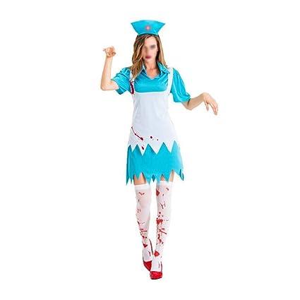 NIANzai Disfraz de Halloween for Mujer Disfraz de Mascarada Adulto ...
