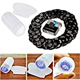 Professional Manicure Nail Art Set Kit With Polish Stamp Stamping Image Plates Accessories, Nailart Stamper And Scraper By VAGA