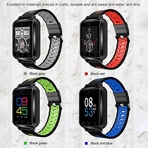 OUYAWEI 1.54 Inch Touch Screen 4G Android Smart Watch Pedometer Heartrate Sensor Smart Bracelet Green
