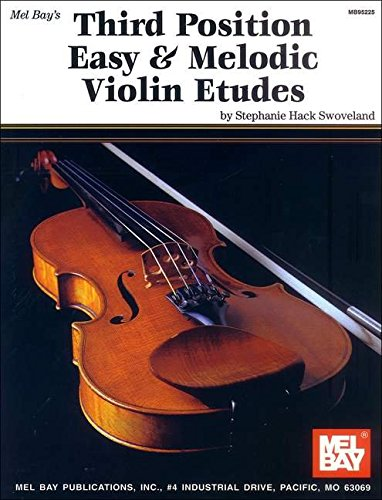Mel Bay Third Position Easy and Melodic Violin Etudes