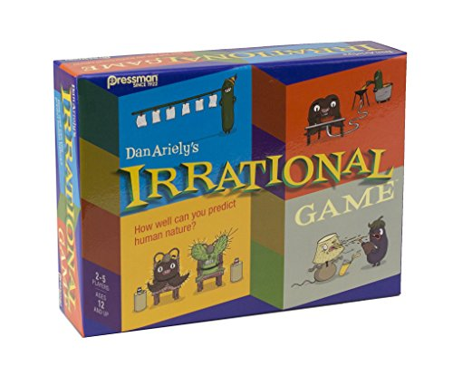 Pressman Toy Irrational Game Fun Party Game by Bestselling Author and Duke Professor Dan Ariely (Irrational Games)
