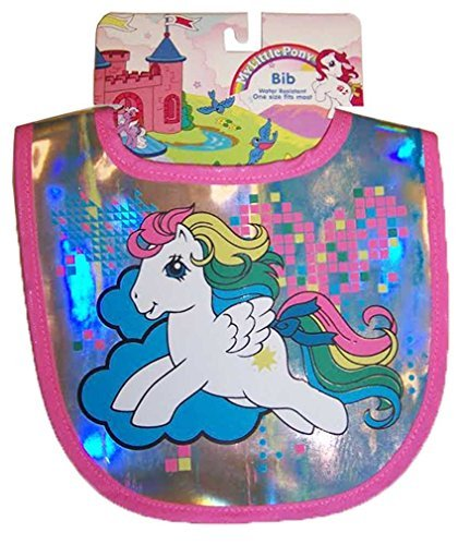 Fisher Price My Little Pony Reflective Baby Bib Cool Items - Infant Girls Pony