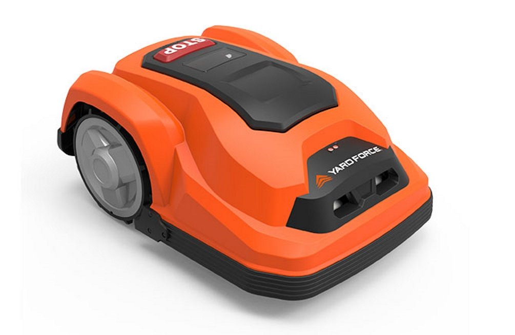 Yard Force SA600 Robot Corta Césped, naranja y negro: Amazon ...