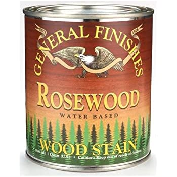 General Finishes Water Based Stain Rosewood Quart
