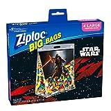 Ziploc Storage Bags, Double Zipper Seal