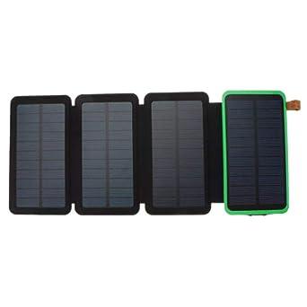 TuToy 20000Mah Solar Panel Solar Cargador 7W 5V/2A Plegable ...