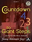 Vol. 75, Countdown To Giant Steps (Book & CD Set) (Jazz Play-A-Long for All Musicians)
