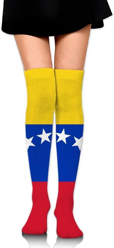 RobotDayUpUP Venezuela Glorious Bandera Calcetines Largos para ...