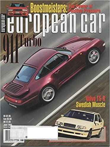 European Car Magazine June 1995 Vol 26 No 6 Debra Britton