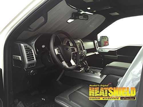 Sunshade for Ford F150 w/Lane Depart Sensor 2015 2016 2017 Heatshield Windshield Custom-fit Sunshade #1532