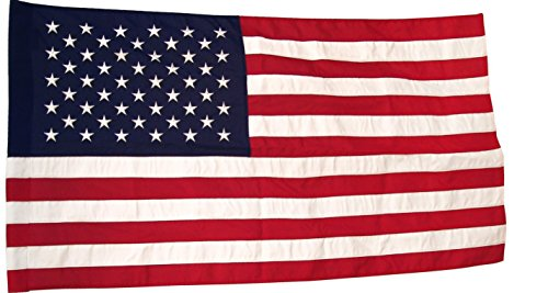 3′ X 5′ American Flag – Poly II TearGuard with Pole Sleeve