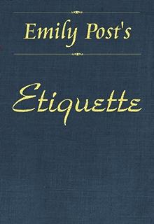 emily post etiquette pdf