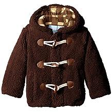 Wippette boys Little Little Boys' Wooly Fleece Toggle Coat