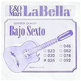 LaBella BX3/4/9 Stainless Steel Acoustic Guitar Strings, Medium