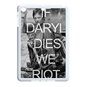 wugdiy Personalized Durable Case Cover for iPad Mini with Brand New Design Walking Dead