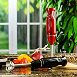 Ovente Immersion Electric Hand Blender with