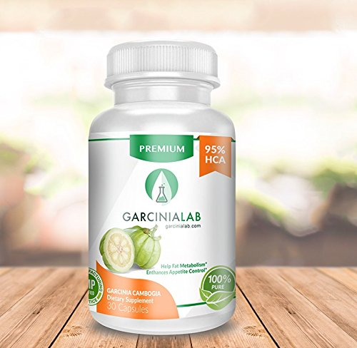 Garcinia Cambogia 95% HCA 100% Pure Extract 1540 MG USA Made