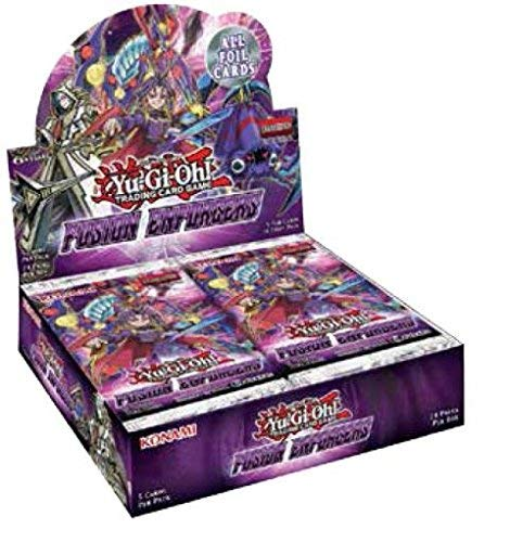 Yu-Gi-Oh!: Fusion Enforcers Booster Box (Display of 24 Packs) (Cards Card Oh Gi Yu Fusion)