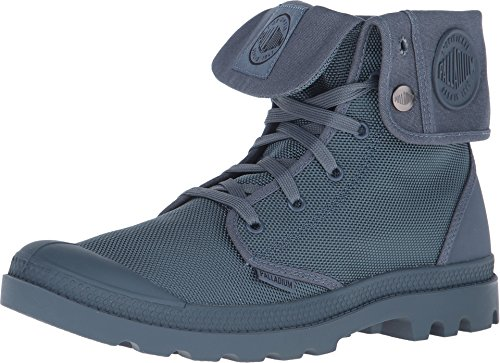 Palladium Mono Chrome Baggy II Unisex Lace Up Fold Down Combat Hiking Boots Size 6.5 in Nordic Blue ()