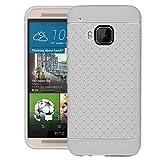 SWAN HTC ONE M9 Case, Hybrid TPU Anti-Scratch GXD Impact Gel Bumper Back Case Cover For HTC ONE M9 - White
