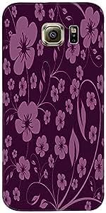 Snoogg Patrón Floral Abstracto Diseñador Protectora Volver Funda Para Samsung...