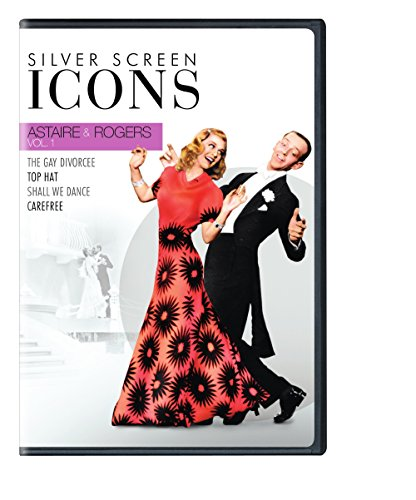 DVD : Silver Screen Icons: Astaire & Rogers: Volume 1 (Boxed Set, 4 Disc)