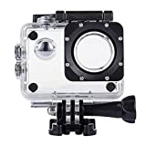 TEKCAM Professional Waterproof Case Compatible DBPOWER EX5000 Waterproof Action Camera 12MP / AKASO EK7000 EK5000 / ODRVM Full HD Sports Camera Housing Case Underwater Shell