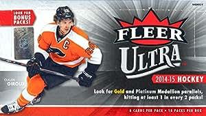 2014-15 Upper Deck Fleer Ultra NHL hockey cards Hobby Box