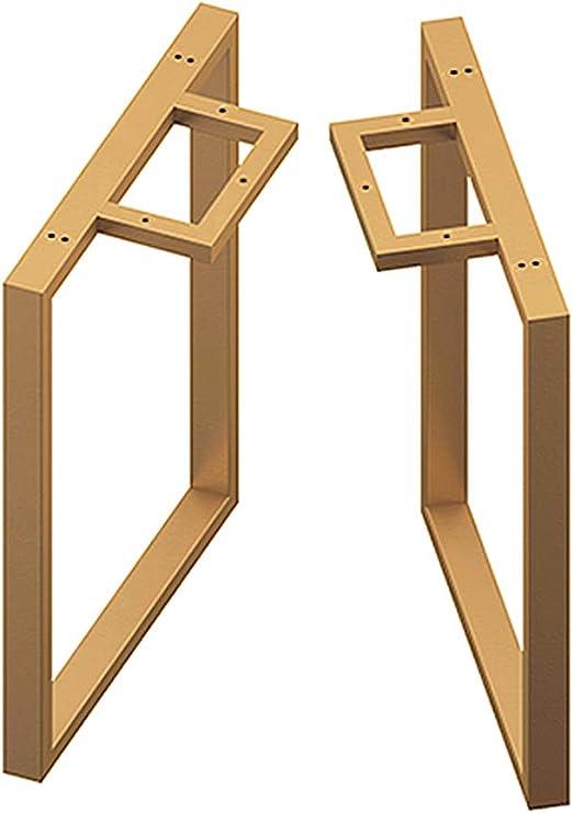 Patas de mesa de tubo cuadrado Hierro, diseño industrial ...