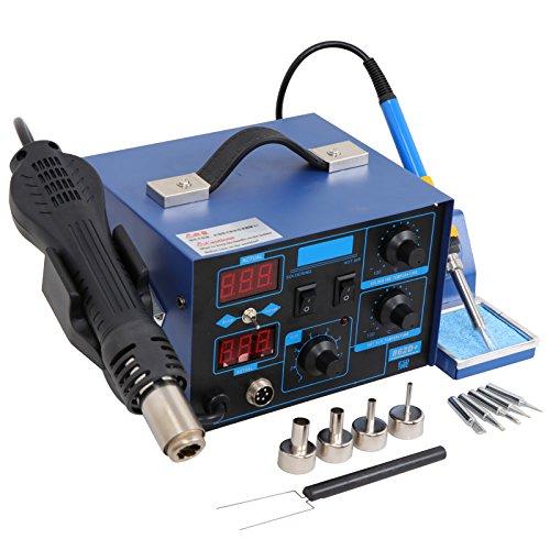 BBBuy 862D+ 2in1 SMD Soldering Iron Hot Air Rework Station Desoldering Repair 110V