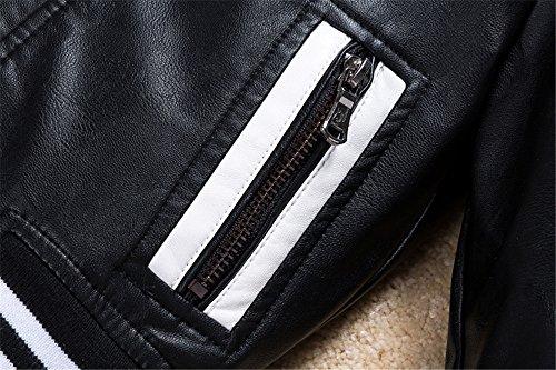 72a18b1a4 Budermmy Boys Leather Motorcycle Pilot Jackets Toddler Coats - Buy ...