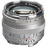 Zeiss Ikon 50mm f/1.5 C Sonnar T* ZM Series MF Lens (Leica M-Mount) - Silver