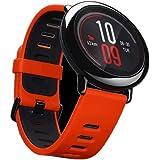 """Amazfit Pace - Reloj Deportivo con GPS (Pantalla táctil 1.34"""", 4 GB, Reproductor de música, Bluetooth, Resistente al Agua) Color Negro"""