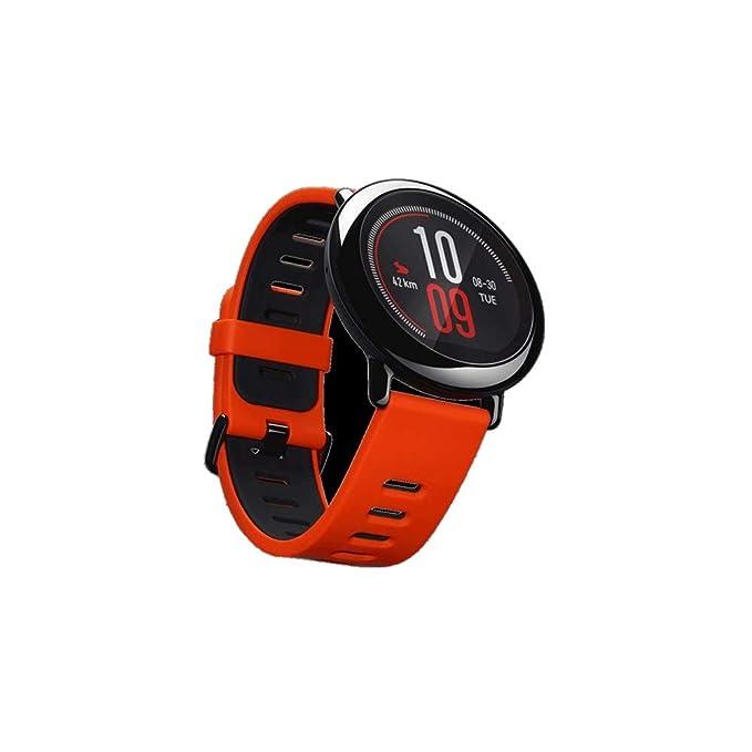 amazfit Pace - Montre de Sport avec GPS (Écran Tactile 1.34, 4 Go, Lecteur de Musique, Bluetooth, résistant à leau) Couleur Noir: Amazon.fr: High-tech