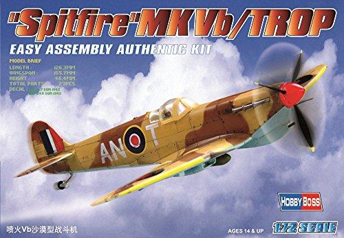 Hobby Boss Spitfire Mk.Vb/Trop 1942 Airplane Model Building Kit