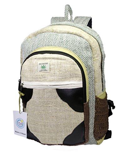 Cheap Hemp Handmade Himlayan Backpack ( THC FREE) (Type 1)