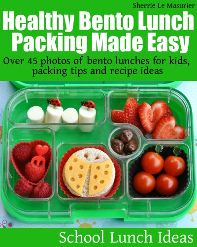 Healthy Bento Lunch Packing Made ebook product image
