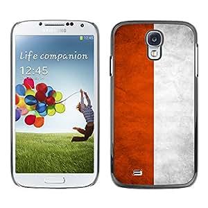 Shell-Star ( National Flag Series-Poland ) Fundas Cover Cubre Hard Case Cover para Samsung Galaxy S4 IV (I9500 / I9505 / I9505G) / SGH-i337
