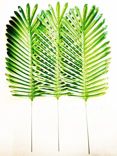 Dect 10Pcs 25 inch Artificial Single Leaf (Artificial Palm Leaves)