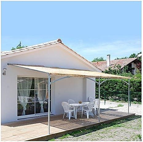 Provence Outillage-Pérgola de pared Mistral 6mx4m: Amazon.es: Bricolaje y herramientas