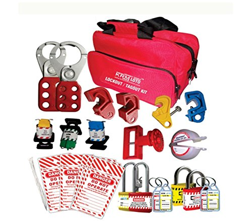 Electrical Lockout Tagout Bag Kit by LOTO