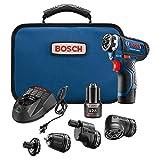 Bosch GSR12V-140FCB22 12 V Max Flexiclick 5 en 1 sistema de taladro/controlador